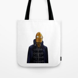 Steampunk Robot Tote Bag
