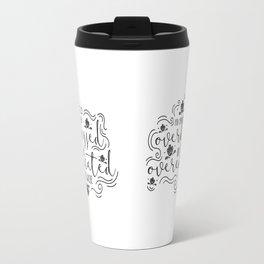Overdressed or Overeducated Travel Mug