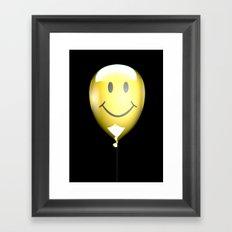 Acid Balloon Framed Art Print