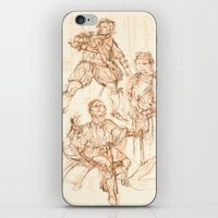 hamlet iPhone & iPod Skins featuring Scenes from Hamlet  by Kathryn Gabrielle Mauno