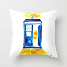 The Doctor of Oz Throw Pillow