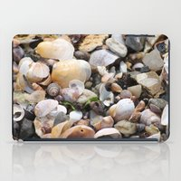 shells iPad Cases featuring Shells by BACK to THE ROOTS