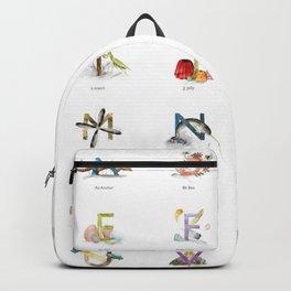 Kids Alphabet Backpack