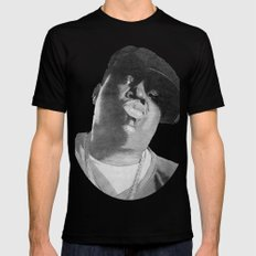 Notorious B.I.G Mens Fitted Tee Black LARGE