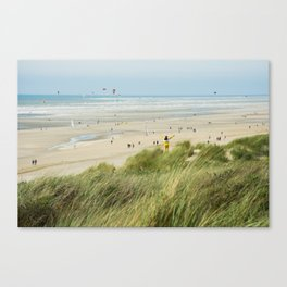 Moment of the beach Canvas Print