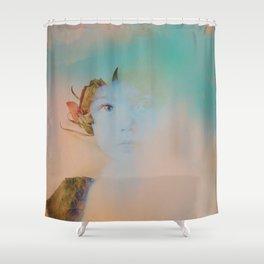 Memory04 Shower Curtain