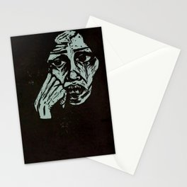 Refugee Woman Stationery Cards