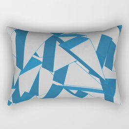 3D Broken Glass Rectangular Pillow