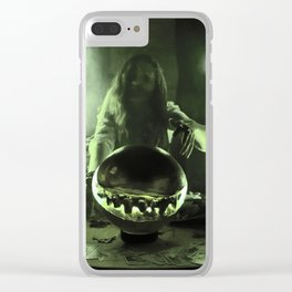 2:30 Gypsy Green Fortune Clear iPhone Case