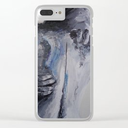 Hold Onto Me Clear iPhone Case