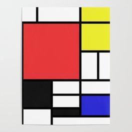 Mondrian Poster