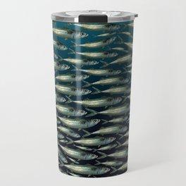 Mackerel At Sea Travel Mug