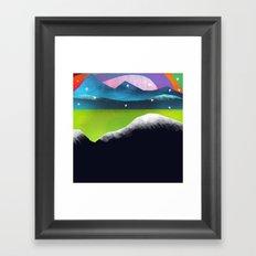 Starry Day Framed Art Print