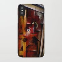 portal iPhone & iPod Cases featuring portal by sewec
