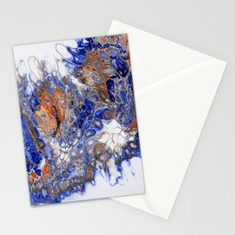 Team Splash, Orange and Blue Stationery Cards