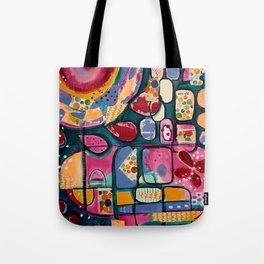 Rainbow garden Tote Bag