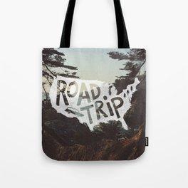 Road Trip USA - big sur Tote Bag