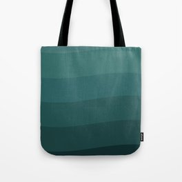 Six shades of turquoise. Tote Bag