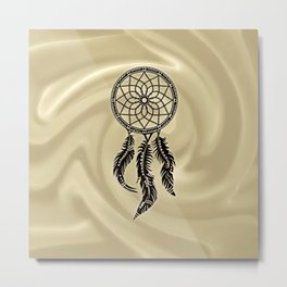 Dreamcatcher, dream catcher, feathers Metal Print