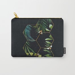 Bee Green Carry-All Pouch