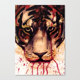 Tyger! Tyger! Burning Bright! Canvas Print
