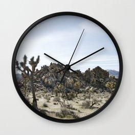 The Mojave Desert Wall Clock