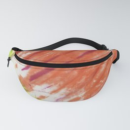 Pleated and Laced Fanny Pack