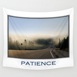 Inspiring Patience Wall Tapestry