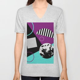 Bits And Bobs 2 - Abstract, geometric design Unisex V-Neck