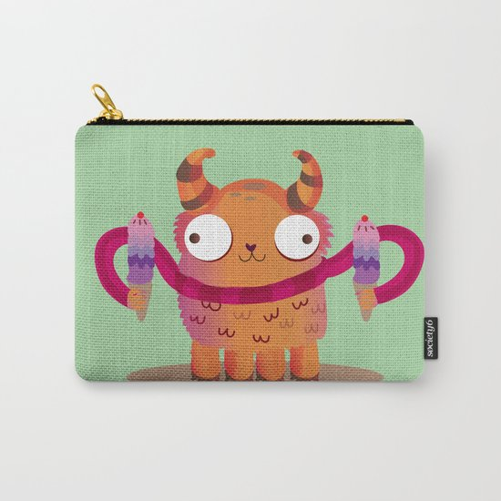 Icecream monster Carry-All Pouch