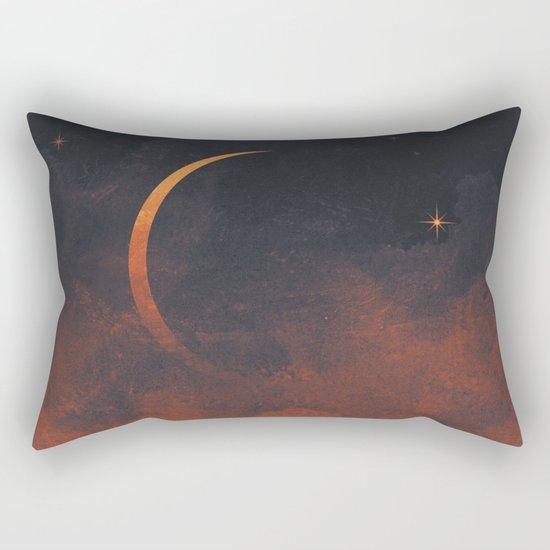 Silent Moon Rectangular Pillow