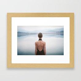 Lady Daydream Framed Art Print