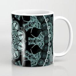 Mandla Indian Elephants Zen Bohemian Hippie Spiritual Yoga Mantra Meditation Coffee Mug