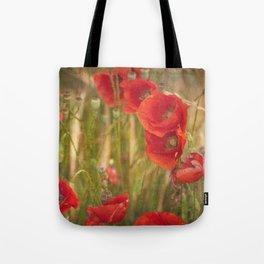 Poppies...... Tote Bag