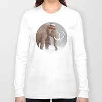 snow Long Sleeve T-shirts featuring The Ice Age Sucked by Terry Fan