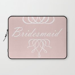 For My Bridesmaid Laptop Sleeve