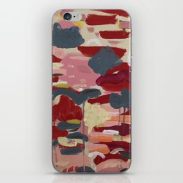 Sunsets and Flower Fields iPhone Skin