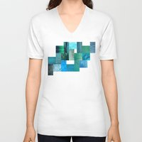 blues V-neck T-shirts featuring blues by Last Call