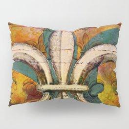 Patricia's Fleur de Lis Pillow Sham