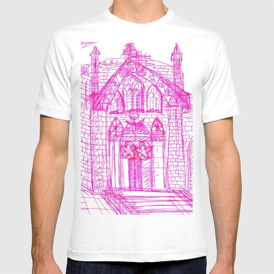 Building sketch T-shirt