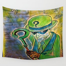 Riddle of herb Wall Tapestry