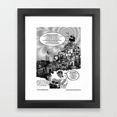 Musical Mystery Tour Framed Art Print