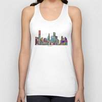 houston Tank Tops featuring Houston by bri.buckley