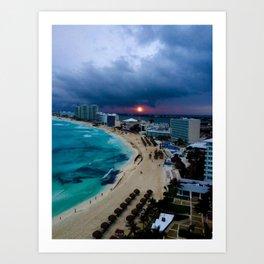 Cancún, Mexico Art Print