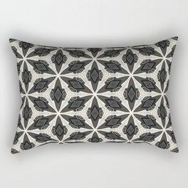 Openwork Abstract Pattern Rectangular Pillow