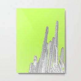 Lime Cordial Metal Print