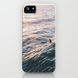 Into the Surf and Sun iPhone Case
