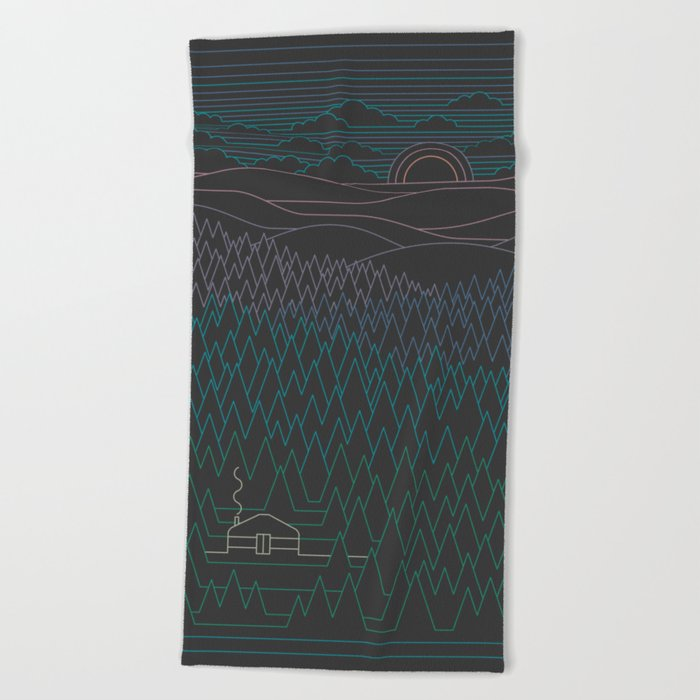 The Little Clearing Beach Towel