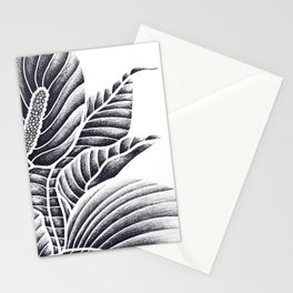 Peace Lily Stationery Cards