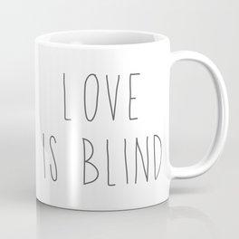 Pitbull - Love is blind - Stevie the wonder dog Coffee Mug